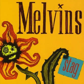 Stag (Melvins album) - Image: Melvins Stag Front Cover