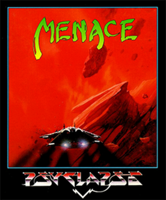 Menace (video game) - Menace cover art, designed by Ian Craig