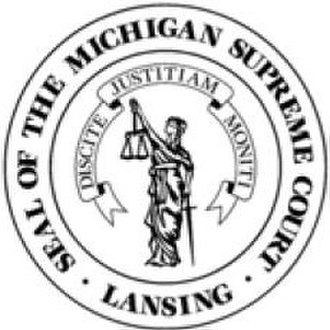 Michigan Supreme Court - Image: Michigansupremecourt seal