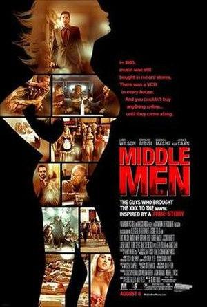 Middle Men (film) - Image: Middle men poster
