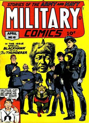 Blackhawk (DC Comics) - Image: Military 18