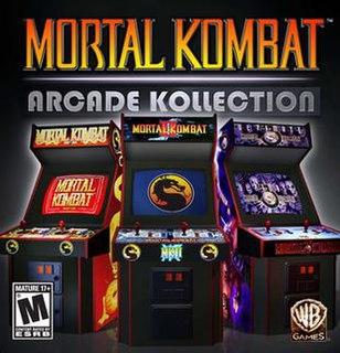 <i>Mortal Kombat Arcade Kollection</i> 2011 video game