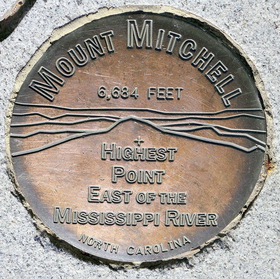 MountMitchellSurveyorsMark