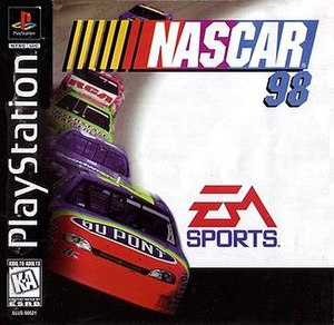NASCAR 98 - North American PlayStation cover art