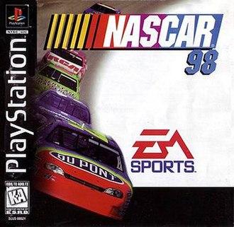 NASCAR 98 - North American PlayStation cover art