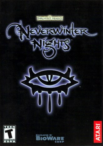 Neverwinter Nights - European Windows version box art
