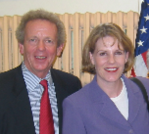 Catharine Young - Young (right) with Rep. Randy Kuhl