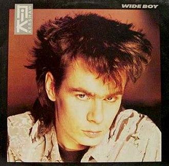 Wide Boy (song) - Image: Nik Kershaw Wide Boy Single Cover