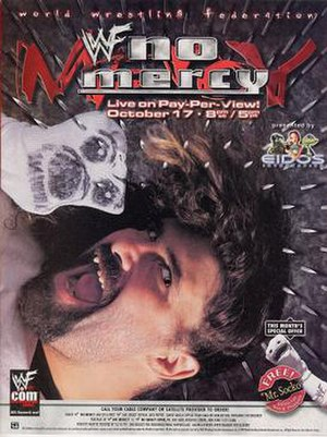 No Mercy (1999) - Promotional poster featuring Mankind