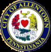 Oficiala sigelo de Allentown, Pensilvanio
