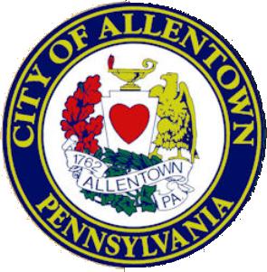 Official seal of Allentown, Pennsylvania