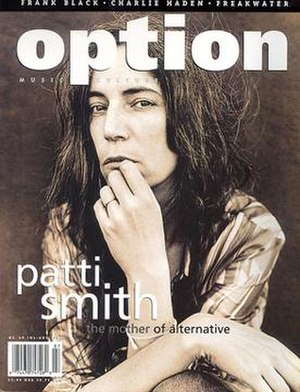 Option (music magazine) - Image: Option music magazine cover Jul Aug 1996