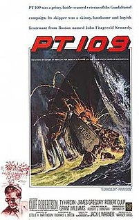 <i>PT 109</i> (film) 1963 film by Leslie H. Martinson
