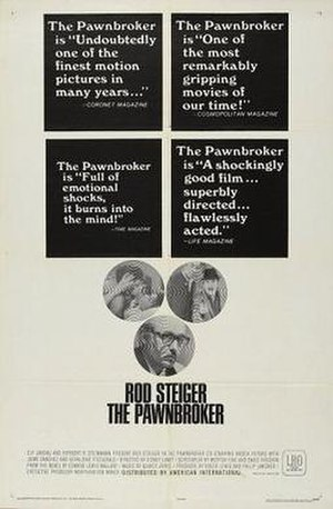 The Pawnbroker (film) - Theatrical release poster
