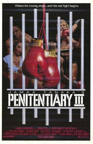 Penitentiary III - Theatrical release poster