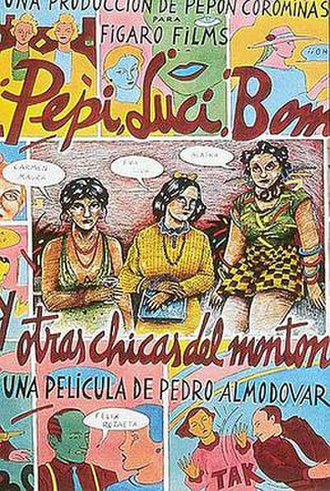 Pepi, Luci, Bom - Theatrical release poster