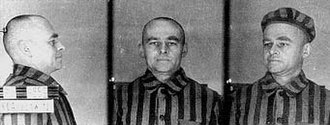 Witold Pilecki - Auschwitz concentration camp photos of Pilecki (1941).