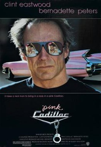 Pink Cadillac (film) - Theatrical release poster