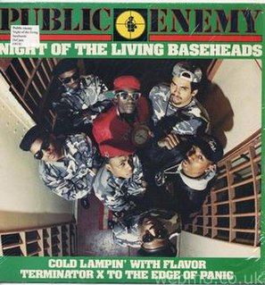 Night of the Living Baseheads single by Public Enemy