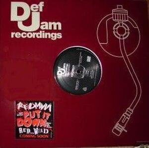 Put It Down (Redman song) - Image: Put It Down (Redman single cover art)