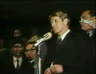 Robert F. Kennedys speech on the assassination of Martin Luther King Jr.
