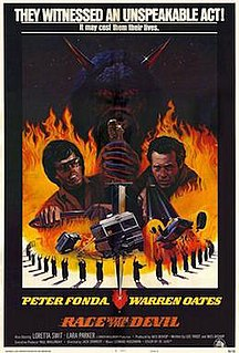<i>Race with the Devil</i> 1975 American action thriller film directed by Jack Starrett