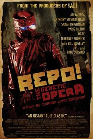 Repo! The Genetic Opera - Image: Repo Genetic Opera Official Poster