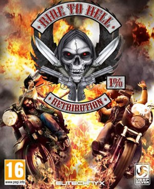 Ride to Hell: Retribution - Image: Ride to Hell Retribution cover