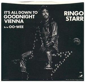 (It's All Down to) Goodnight Vienna - Image: Ringo Starr Goodnight Vienna album cover