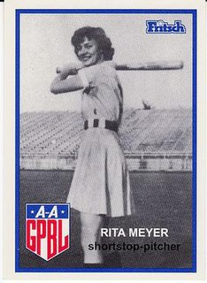 Rita Meyer (baseball) American baseball player