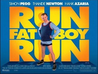 Run Fatboy Run - British theatrical release poster