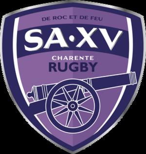 Soyaux Angoulême XV Charente - Image: SA XV Charente Rugby logo 2014