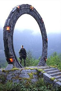 Stargate (device) portal device within the Stargate fictional universe