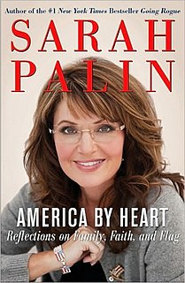 <i>America by Heart</i> book by Sarah Palin