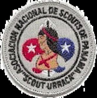 Asociación Nacional de Scouts de Panamá - Scout Urracá badge