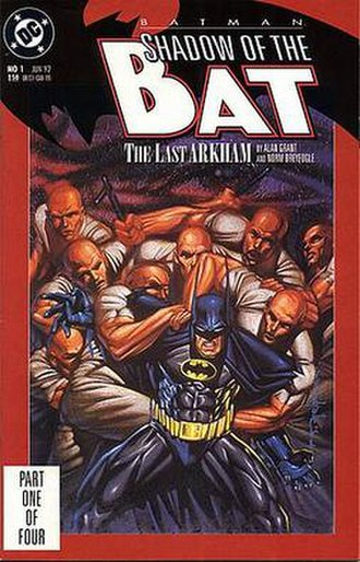 Batman: Shadow of the Bat - Image: Shadow of the Bat 1