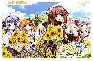 <i>Shuffle!</i> Japanese visual novel developed by Nave, 2003