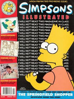 <i>Simpsons Illustrated</i> Magazine about The Simpsons