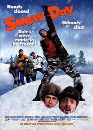 Snow Day (film) - Theatrical release poster