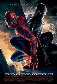 <i>Spider-Man 3</i> 2007 superhero film directed by Sam Raimi