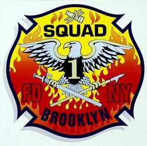 New York City Fire Department Squad Company 1 - Image: Squad 1