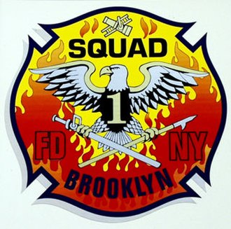 New York City Fire Department Squad Company 1 - Image: Squad 1