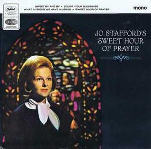 Jo Stafford's Sweet Hour of Prayer - Image: Stafford sweet hour of prayer