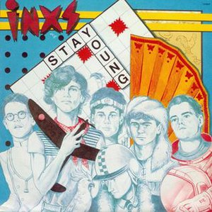 Stay Young (INXS song) - Image: Stay Young By INXS Single Cover