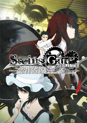 Steins;Gate Elite - Promotional art, featuring the character Okabe