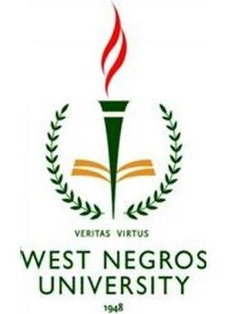 STI West Negros University - Image: Stiwnuformerseal