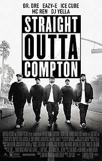 <i>Straight Outta Compton</i> (film) 2015 film directed by F. Gary Gray