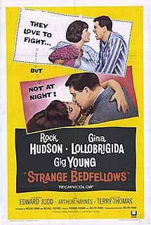 <i>Strange Bedfellows</i> (1965 film) 1965 American comedy film directed by Melvin Frank