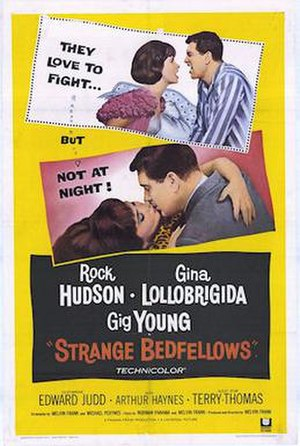 Strange Bedfellows (1965 film) - Theatrical poster