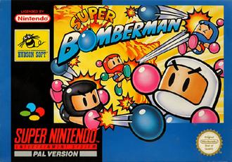 Super Bomberman - European cover art